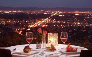 restaurant pour diner avec une escorte